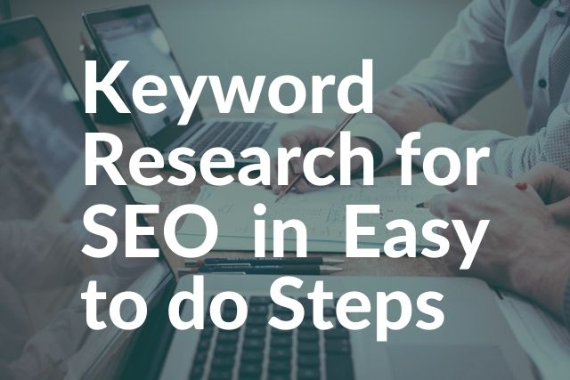 Keyword Research for SEO in Easy